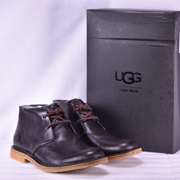 79e8024ba06 Men's UGG Leighton Brown Chukka Boots (A12-2C)